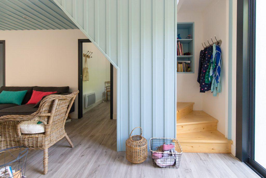 extension maison de vacances ile d 39 ol ron aliz chauvet. Black Bedroom Furniture Sets. Home Design Ideas