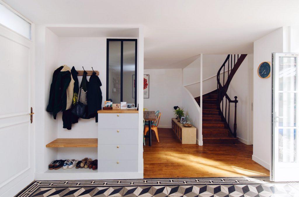 Blog architecture et d coration aliz chauvet architecte 17 - Meuble pour entree de maison ...