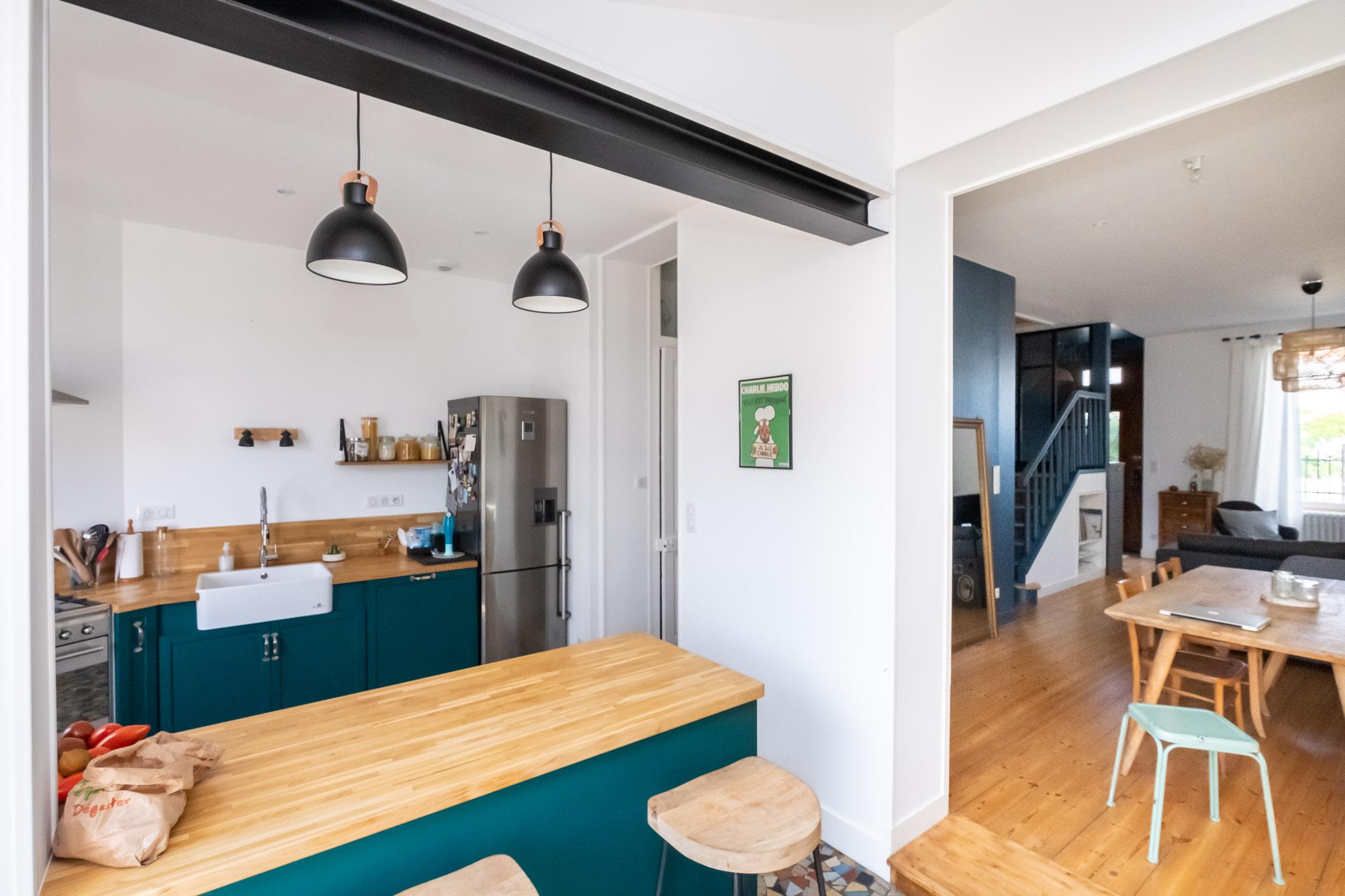 Agencement Entree De Maison rénovation maison et combles la genette, la rochelle | alizé